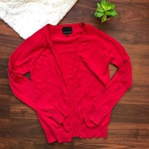Cynthia Rowley red cardigan size medium